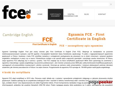 Cambridge FCE
